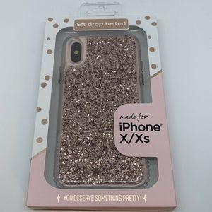 Fellowes iPhone X / Xs Glitter Case